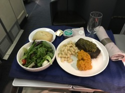 Beef Dinner from IAD to SFO