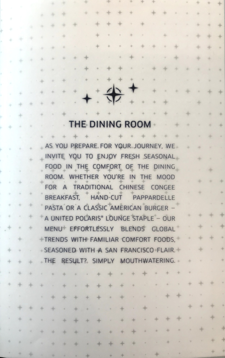 The Dining Room message