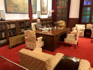 Mock of Chiang Kai-shek's office