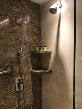 United Global First Lounge Shower Suite