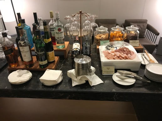 First Class Alcohol Area