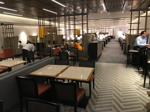 Business Class Seating Area