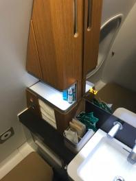 Lufthansa A340 First Class Lavatory