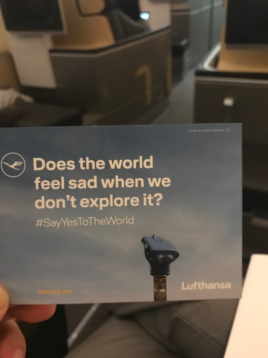 Lufthansa First Class Wifi Card