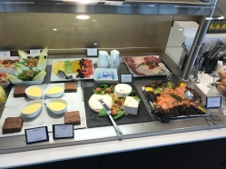 Star Alliance First Class Food Spread